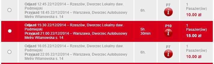 Жешув-Варшава