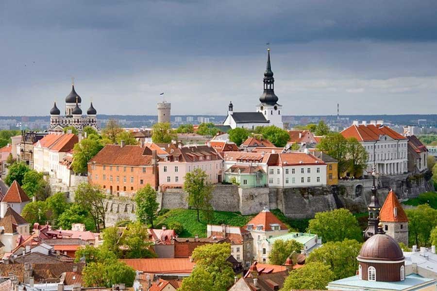 Tallinn. Toompea hill