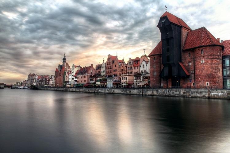 Гданська затока у всій красі.