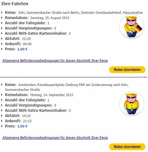 З Кельна до Берліна та на Амстердам за євро
