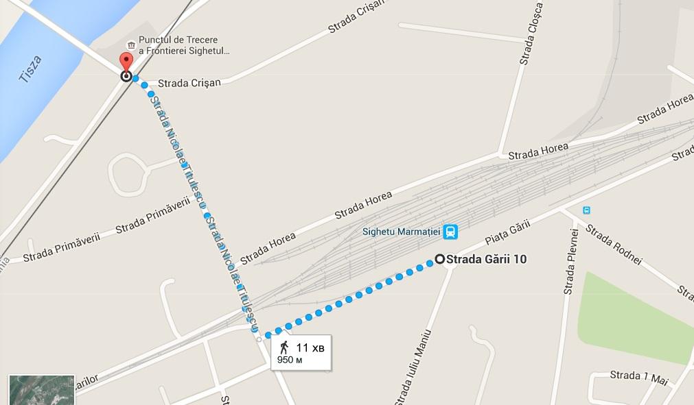 strada garii