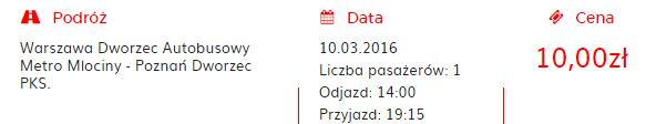 На маршруті Львів-Мілан ви автобусом дістанетеся з Варшави до Познані