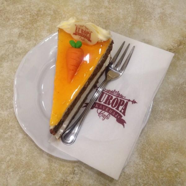 Отчет по поездке в Будапешт: морковный торт