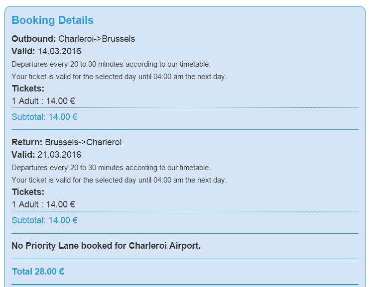 из Львова в Амстердам: переезд из аэропорта в Брюссель