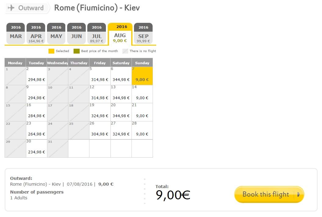 Rome-Kiev