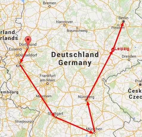 Як дістатися з Києва у Німеччину та поїздити країною за 6 євро