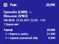 гренобль-вільнюс