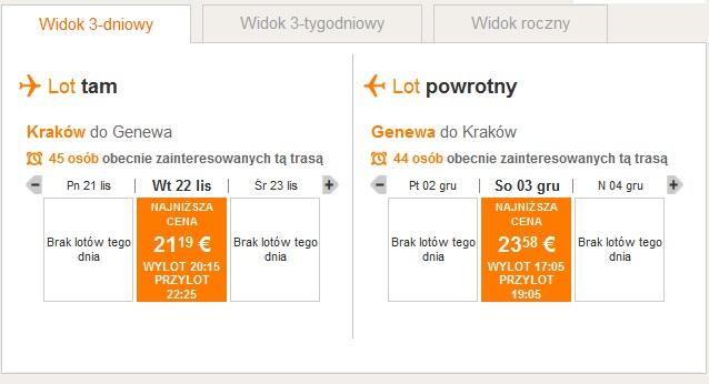 krakow-geneva