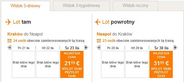 krakow-neapol