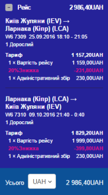 київ-ларнака-київ