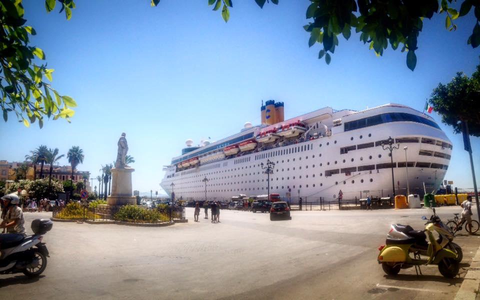Панорама порта Трапани