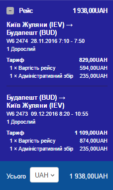 Киев-Будапешт-Киев