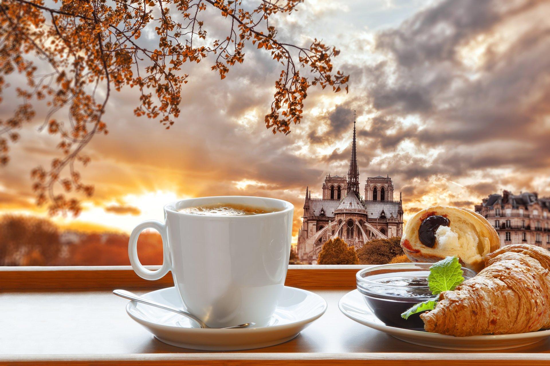 breakfast-coffee-cup-croissant-paris-france-notre-dame-cathedral-breakfast-coffee-croissant-jam-paris-notre-dame