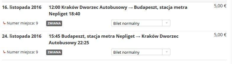 krakow-budapest