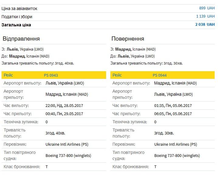 lviv-madryd-avia