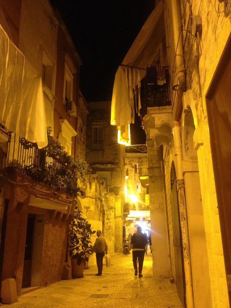 Вулички старого міста, Барі