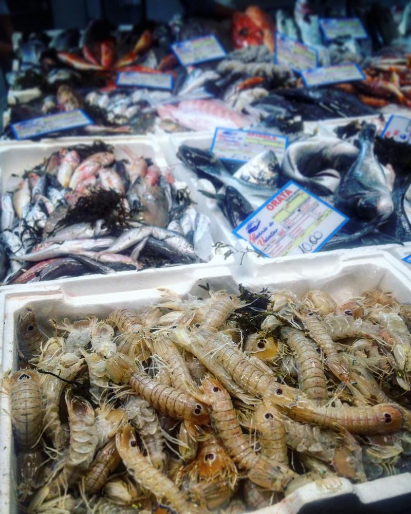 Ринок морепродуктів в Барі